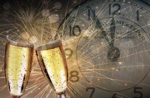 שמפניה ושעון