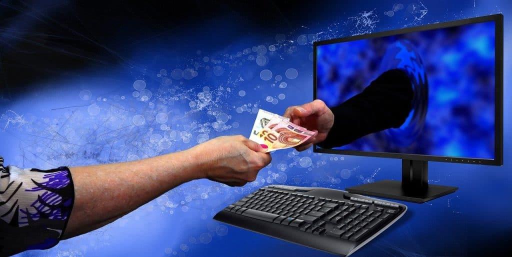 עסקה דרך האינטרנט