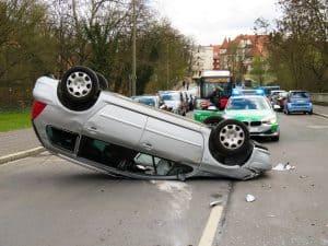 רכב לאחר התנגשות