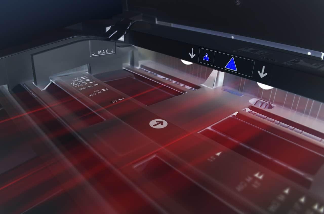 מדפסת נייר דיגיטלית משוכללת